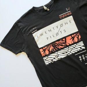 Twenty One Pilots graphic Band Tee T-Shirt L Large